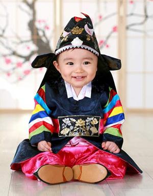 traditional first birthday attire - the dol-bok (돌복)