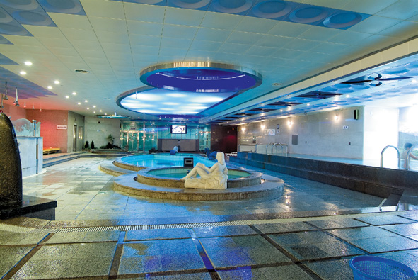 Home Spa World, Apsan, Daegu. Bathhouse